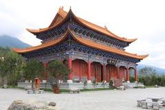 O templo do chongsheng foto de stock