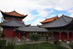 O templo do chongsheng imagens de stock royalty free