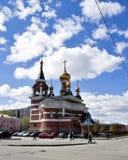 O templo do grande mártir santamente George The Victorious Fotografia de Stock