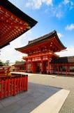 O templo do inari do fushimi fotos de stock royalty free