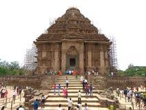 O templo do konark imagens de stock royalty free