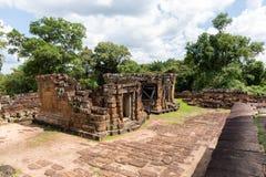 O templo do leste de Mebon Imagem de Stock