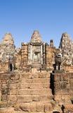 O templo do leste de Mebon pisa, Angkor, Cambodia Foto de Stock Royalty Free