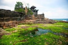 O templo do lote de Tanah, Bali, Indonésia. Foto de Stock Royalty Free