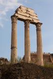O templo do rodízio e do Pollux Imagem de Stock
