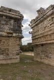 O templo do ` s do mágico em ruínas maias Chichen Itza imagem de stock