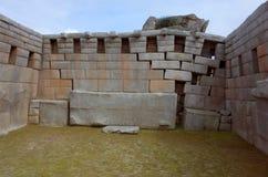 O templo dos três Windows Imagem de Stock Royalty Free