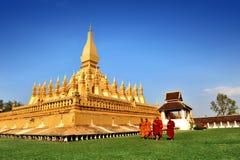 O templo dourado Imagens de Stock Royalty Free