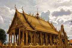 O templo dourado Imagem de Stock