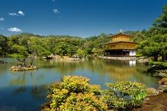 O templo dourado do pavilhão Foto de Stock Royalty Free