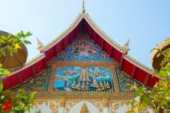 O templo em Laos Fotografia de Stock
