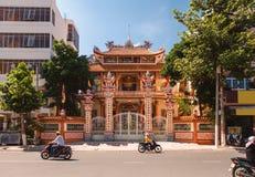 O templo em Nha Trang Fotografia de Stock