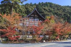 O templo japonês do budismo nomeou o templo de Eikando em Kyoto, Japão imagens de stock royalty free