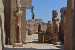 Templo do Amon-Ra do deus de Sun fotografia de stock