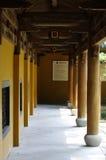 O templo na área cênico de Lingyin Fotos de Stock Royalty Free