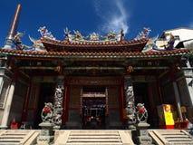 O templo oficial de Mazu Imagem de Stock Royalty Free