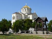 O templo revived das ruínas Imagem de Stock