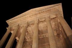 O templo Romanic antigo Fotos de Stock