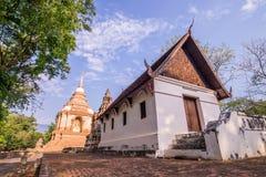 O templo velho em do norte de Tailândia Fotos de Stock Royalty Free