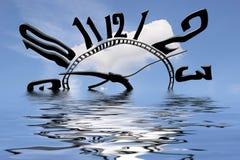 O tempo é água Imagem de Stock