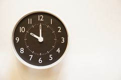 O tempo é 10:00 Foto de Stock Royalty Free