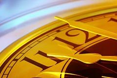 O tempo é dourado Fotos de Stock Royalty Free