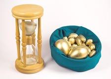 O tempo é ouro Imagens de Stock Royalty Free