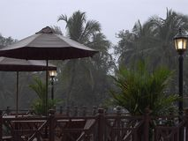 O tempo chuvoso Fotografia de Stock Royalty Free