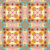 O tempo do Fractal do Batik pode ilustração do vetor