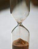 O tempo está acima Imagens de Stock