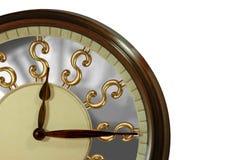 O tempo é ouro, Tempo é dinheiro! Fotos de Stock