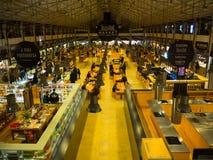 O tempo para fora introduz no mercado em Lisboa, Portugal Imagens de Stock Royalty Free