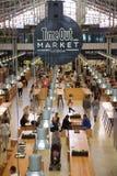 O tempo para fora introduz no mercado Lisboa Portugal Fotografia de Stock Royalty Free