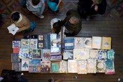 O tempo para fora introduz no mercado Lisboa Portugal Imagem de Stock