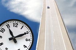 O tempo passa rapidamente Fotografia de Stock Royalty Free