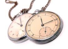 O tempo traz a oxidação e a poeira Fotografia de Stock