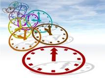 O tempo voa Imagem de Stock