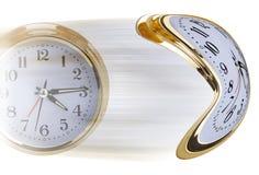 O tempo voa Foto de Stock
