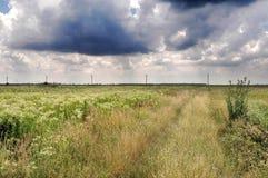 O temporal está vindo Fotos de Stock