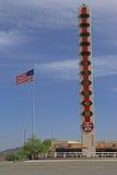 O termômetro o maior do mundo Foto de Stock Royalty Free