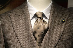 O terno dos homens Foto de Stock Royalty Free