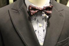 O terno dos homens clássicos Fotografia de Stock Royalty Free