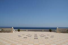O terraço Imagens de Stock Royalty Free