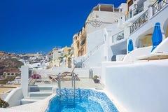 O terraço com todas as conveniências modernas Imagens de Stock