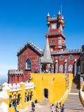 O terraço do palácio Imagens de Stock Royalty Free