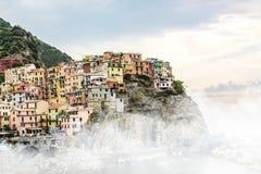O terre de Cinque ajardina o Europa em Itália Fotografia de Stock