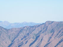O terreno Himalaia Fotografia de Stock