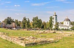O território da museu-reserva Tsaritsyno Imagem de Stock Royalty Free