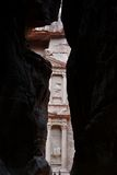 O Tesouraria (Al Khazneh) do Siq Fotos de Stock Royalty Free