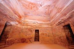 O Tesouraria, PETRA, Jordão Fotografia de Stock